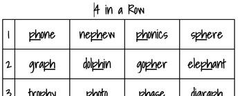 Digraph PH Phonics Game Bundle
