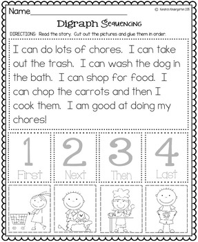 Digraph Packet (Th, Sh, Ch, Ph, and Wh Digraphs)
