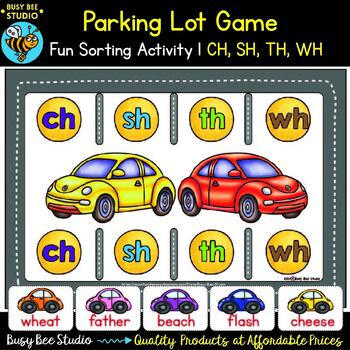 Digraph Game: Parking Lot