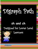Digraph Path for Sh and Ch - Lower Level Learner Version