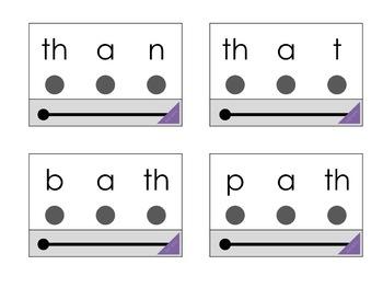 Digraph Phonics Decoding Cards