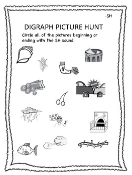 Digraph Picture Hunt