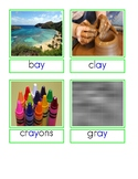 Digraph Picture Label