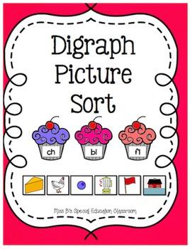 Digraphs & Blends Picture Sort