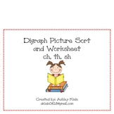Digraph Picture Sort Packet