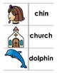 Digraph Picture Sort (wh, sh, ch, ph, th)