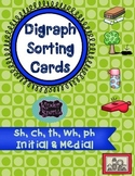 Digraph Picture Sorting Cards
