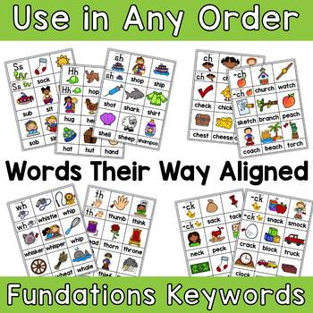 Digraph Picture Sorts