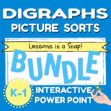 Digraph Picture Sorts Bundle