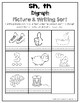 Digraph Picture Sorts & Writing/Spelling Sorts