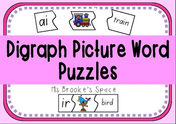Digraph, Picture, Word Puzzles