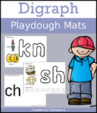 Digraph Playdough Mats