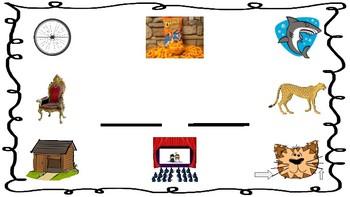 Digraph Playdough Mats: Beginning Sounds Sh, Ch, Th, Wh