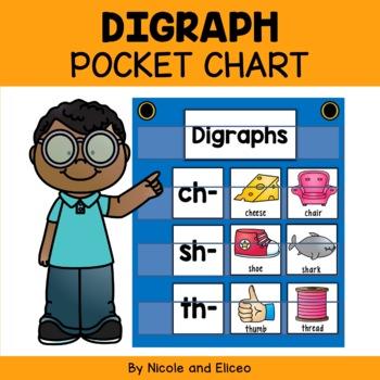 Phonics Pocket Chart - Digraph Word Work