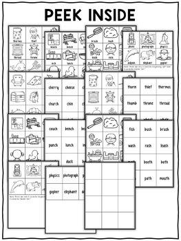 Digraph Pocket Chart Center