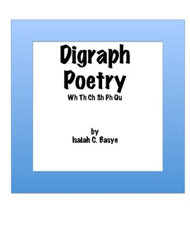 Digraph Poems