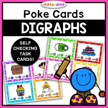 Digraph Poke Cards