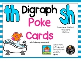 Digraph Poke Cards (th, sh)