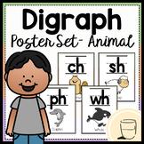 Digraph Poster Set - Animal Edition