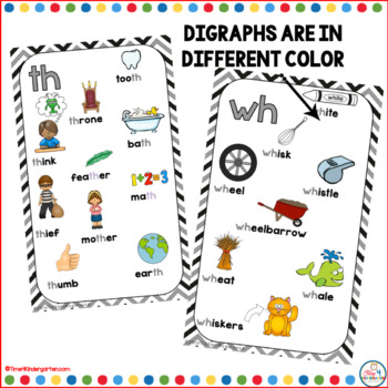 Digraph Posters Black and Gray Chevron