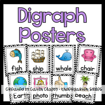 Digraph Posters (Black and White)