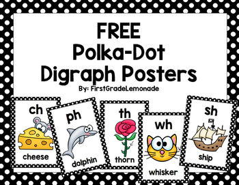 Digraph Posters FREE
