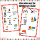 Digraph Posters Red and White Polka Dot