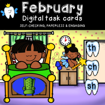 Digraph Power Point Game with Audio (Tooth Fairy Theme)
