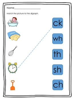 Digraph Practice for Beginners