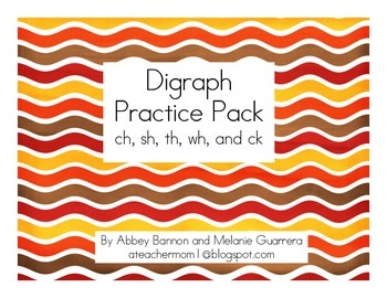 Digraph Practice Pack