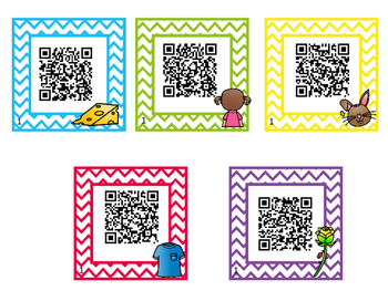 Digraph Identification Task Cards with Self-Correcting  QR Codes