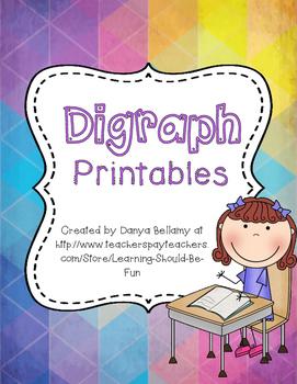 Digraph Printables