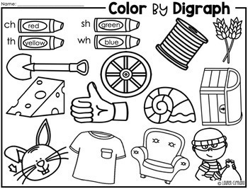 Digraph Puzzles (Ch, Sh, Th, Wh)