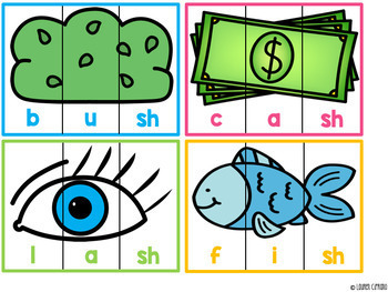 Digraph Puzzles Activity Ch Sh Th Wh