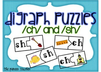 Digraph Puzzles {Ch and Sh}