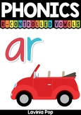 Digraph / R-Controlled Vowel AR: Phonics Word Work {Multiple Phonograms}