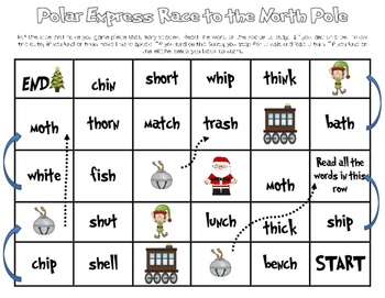 Digraph Race to the North Pole