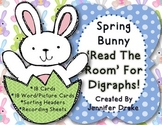 Digraph 'Read The Room' ~Spring Bunny~ Version!  Several Ways To Use!