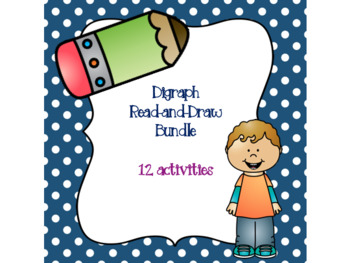 Digraph Read-and-Draw Bundle! {12 activities}