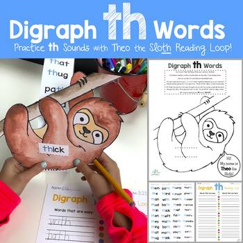 Digraph Reading Loops BUNDLE (TH, CH, SH and WH)