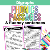 Digraph Reading Passages & Fluency Sentences