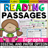 Digraph Reading Passages - Fluency and Skill Based Compreh