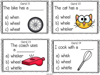 Digraph Reading Task Cards