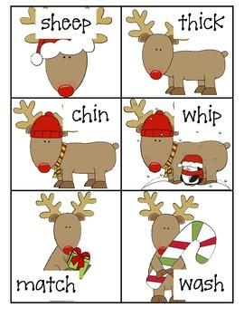 Digraph Reindeer Find