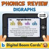 Digraph Review Digital Task Cards
