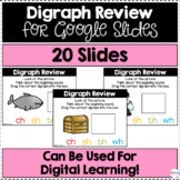 Digraph Review for Google Slides | Distance Learning
