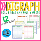 Digraph Roll & Read, Roll & Write