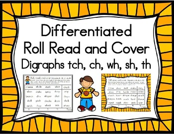 Roll, Read, and Cover Digraph Patterns