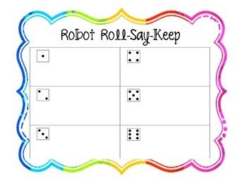 Digraph Roll Say Keep
