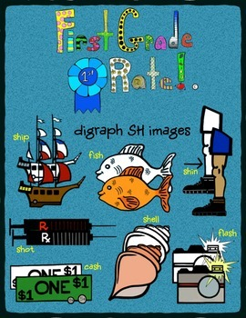 Digraph SH Clip Art